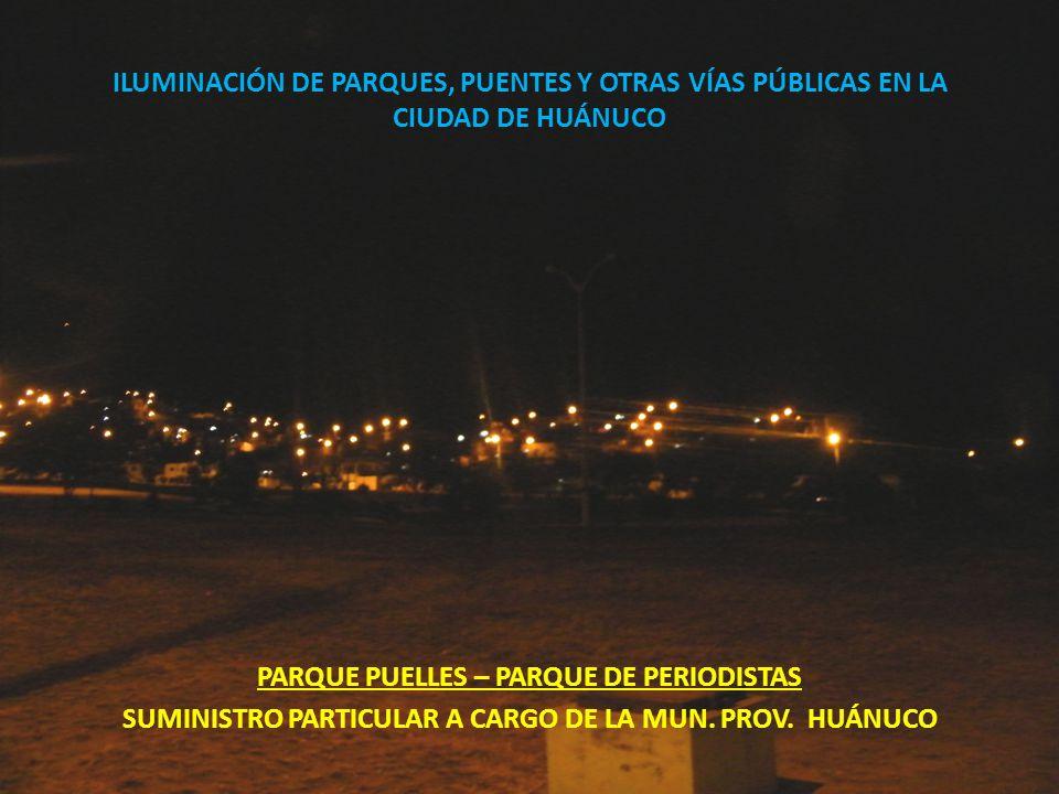 PARQUE PUELLES – PARQUE DE PERIODISTAS
