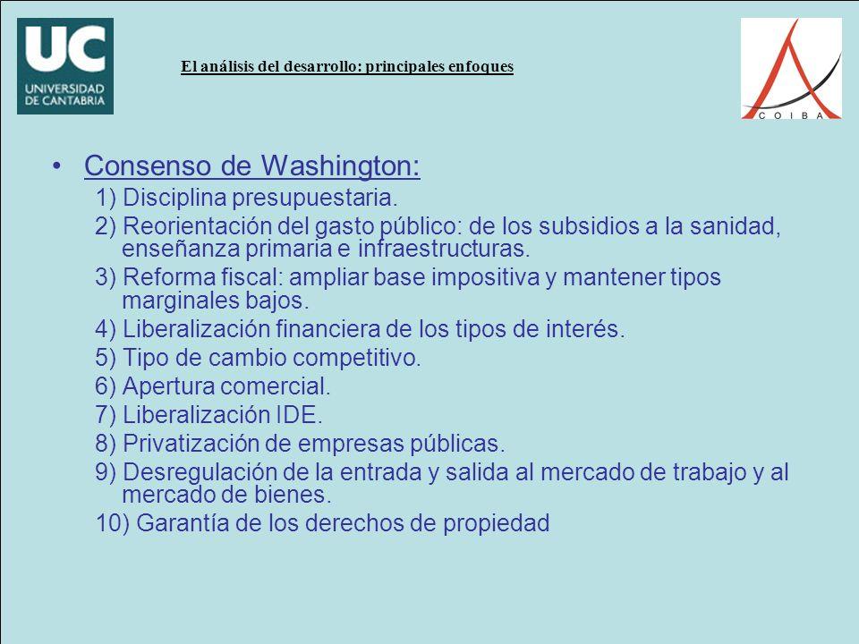 Consenso de Washington: