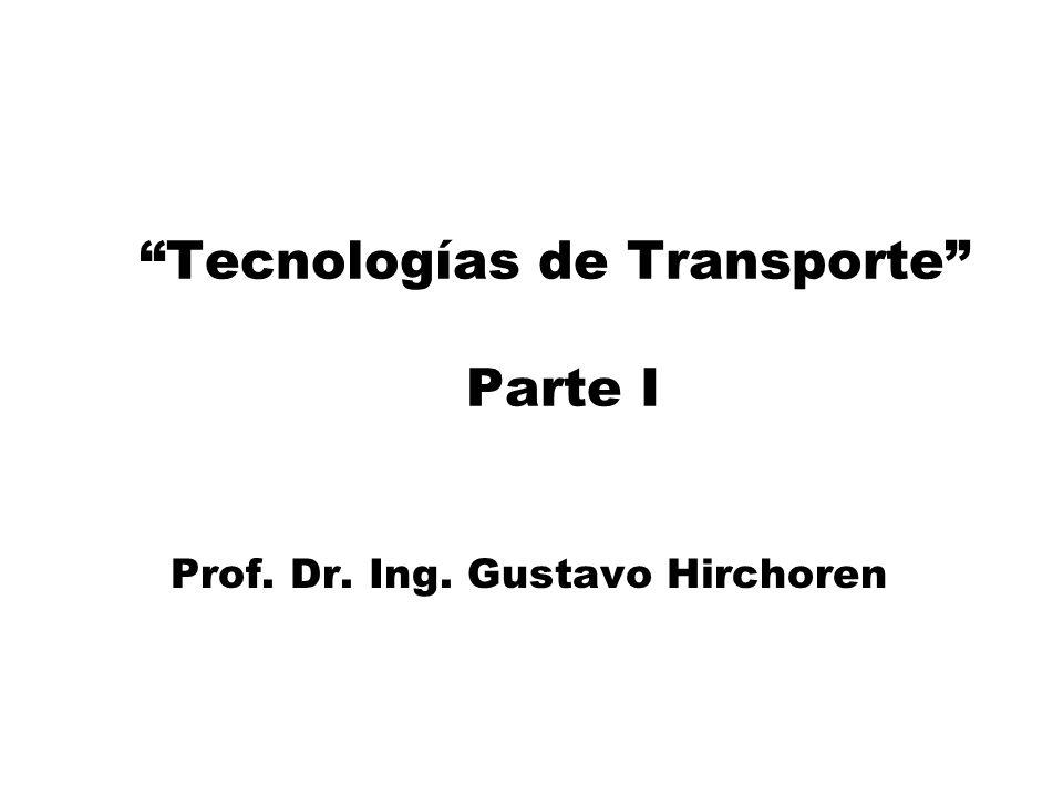 Tecnologías de Transporte Parte I