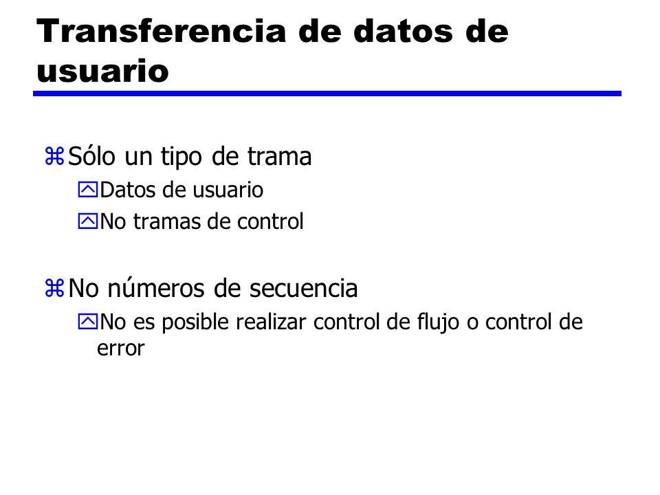 Transferencia de datos de usuario