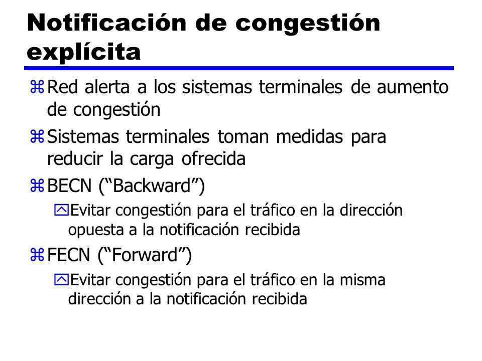 Notificación de congestión explícita