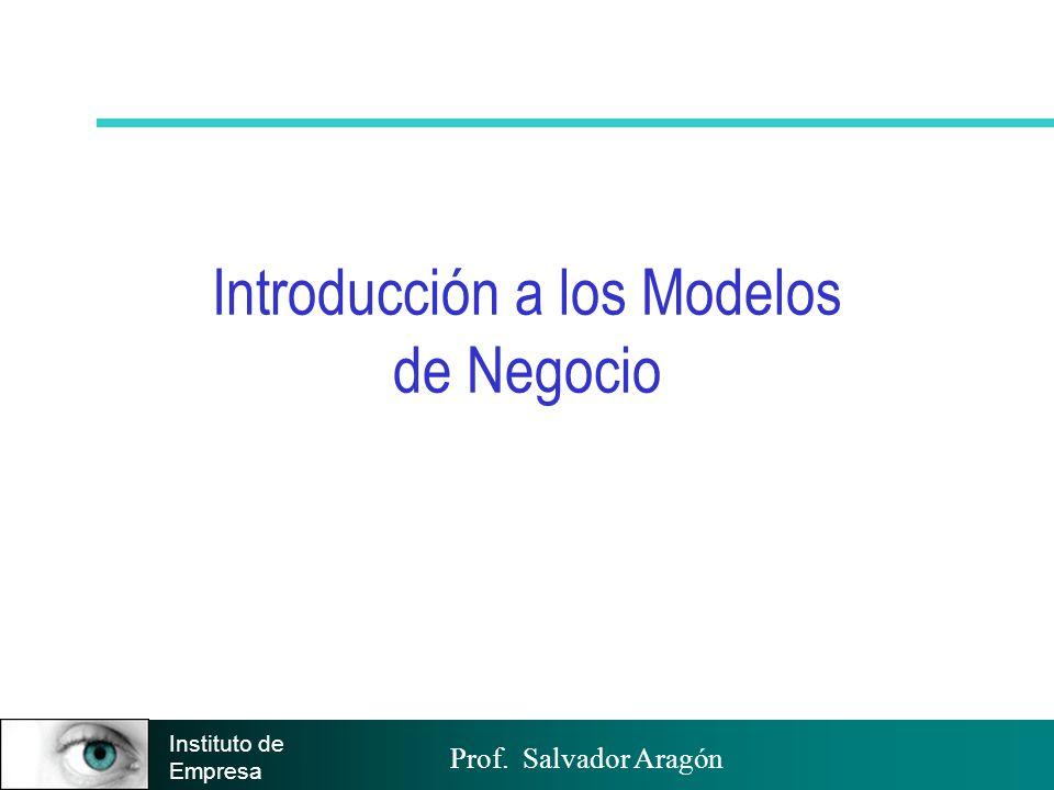 Introducción a los Modelos de Negocio