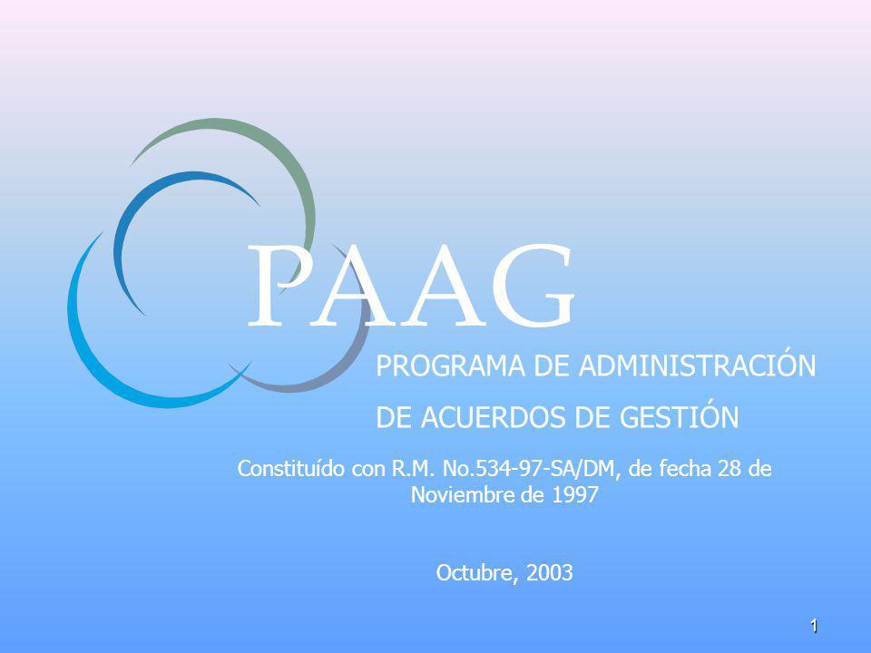 Constituído con R.M. No.534-97-SA/DM, de fecha 28 de Noviembre de 1997