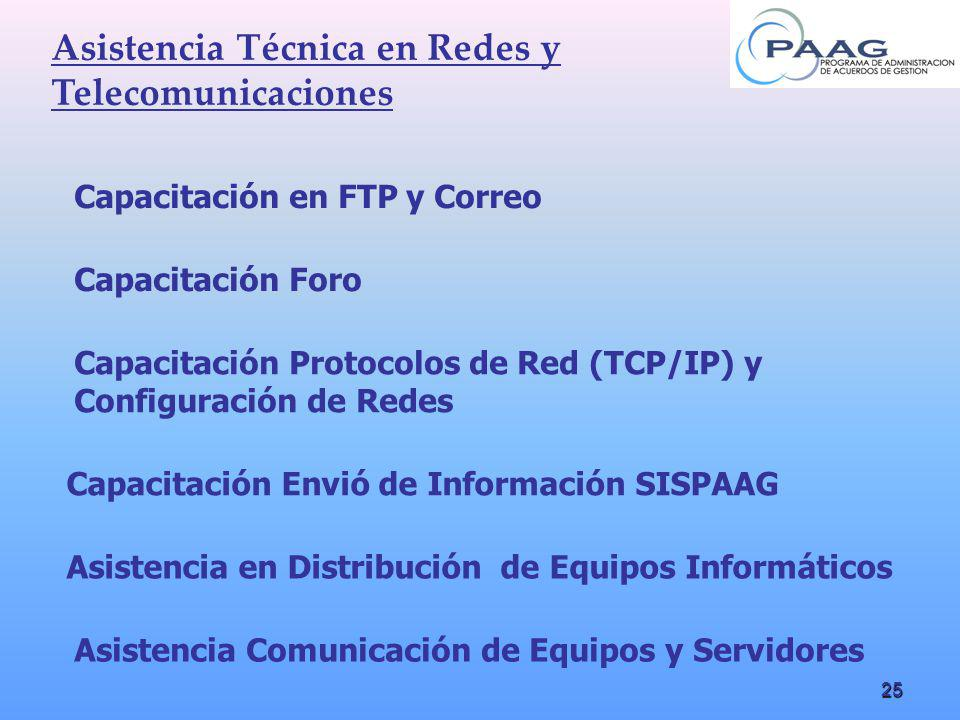 Asistencia Técnica en Redes y Telecomunicaciones