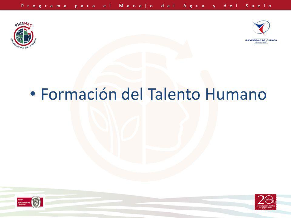 Formación del Talento Humano
