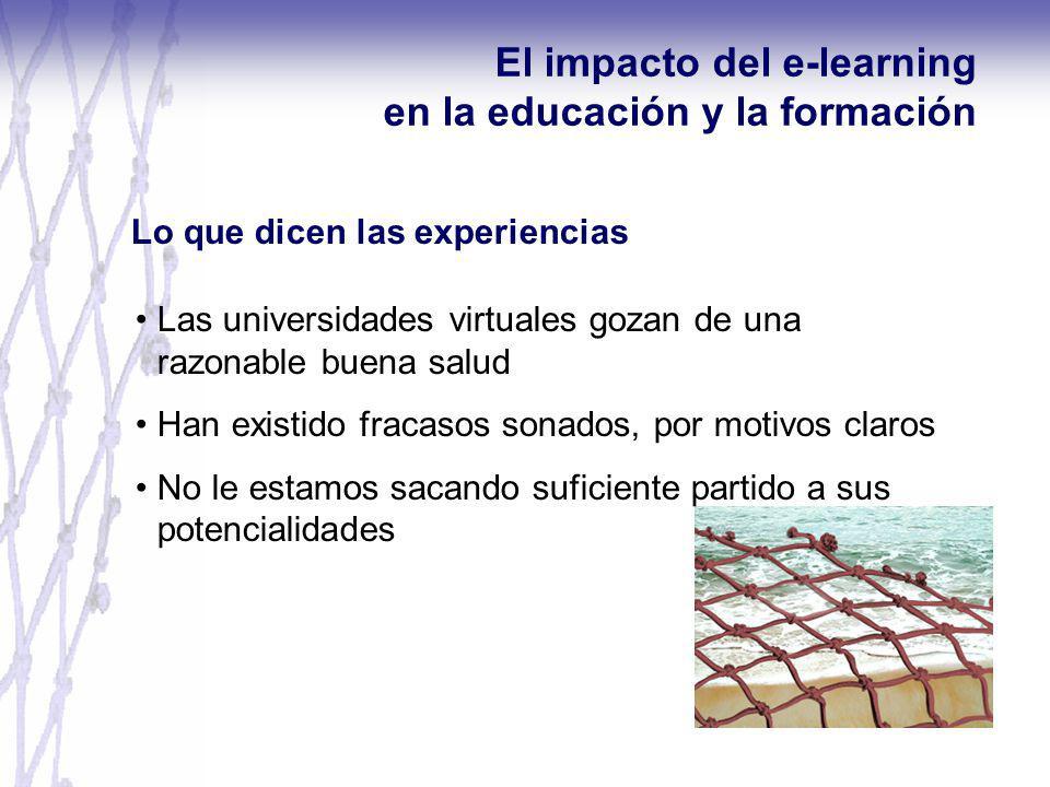 El impacto del e-learning en la educación y la formación