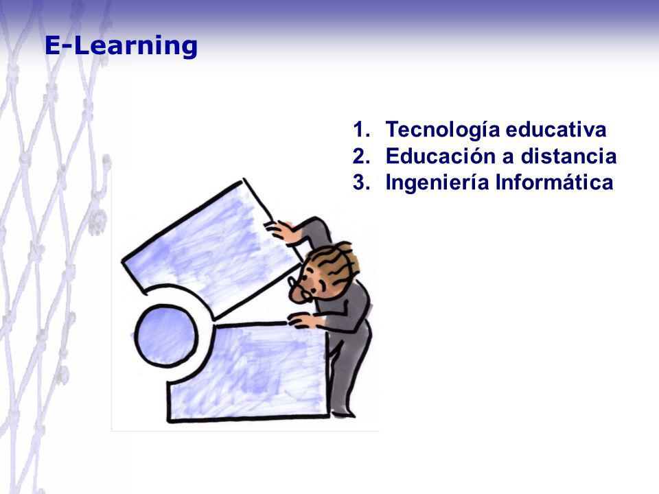 E-Learning Tecnología educativa Educación a distancia