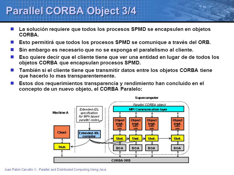 Parallel CORBA Object 3/4