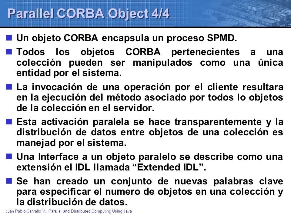 Parallel CORBA Object 4/4