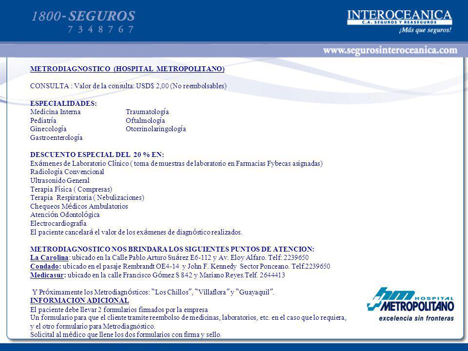 PLANTILLA PARA TEXTOS 20 METRODIAGNOSTICO (HOSPITAL METROPOLITANO)