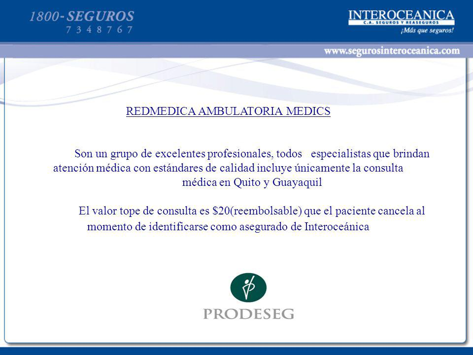 REDMEDICA AMBULATORIA MEDICS