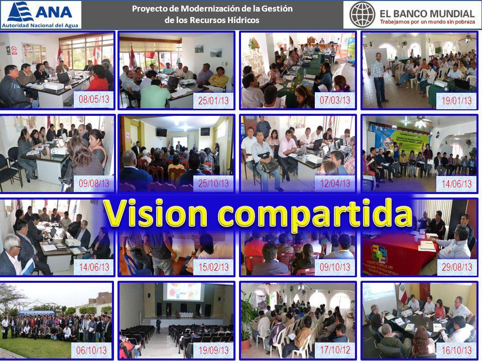Vision compartida 08/05/13 25/01/13 07/03/13 19/01/13 09/08/13