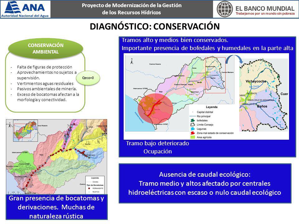 Diagnóstico: conservación