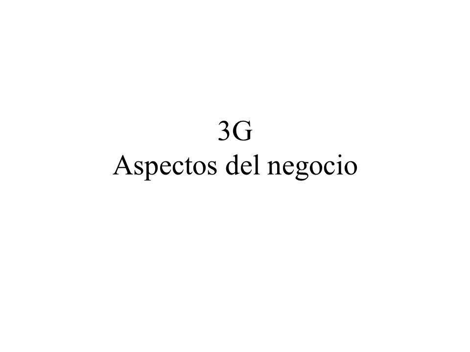 3G Aspectos del negocio