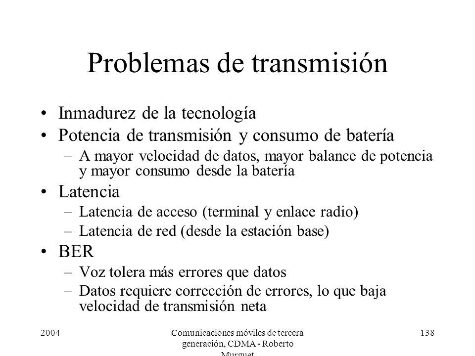 Problemas de transmisión