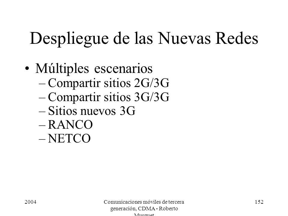 Despliegue de las Nuevas Redes