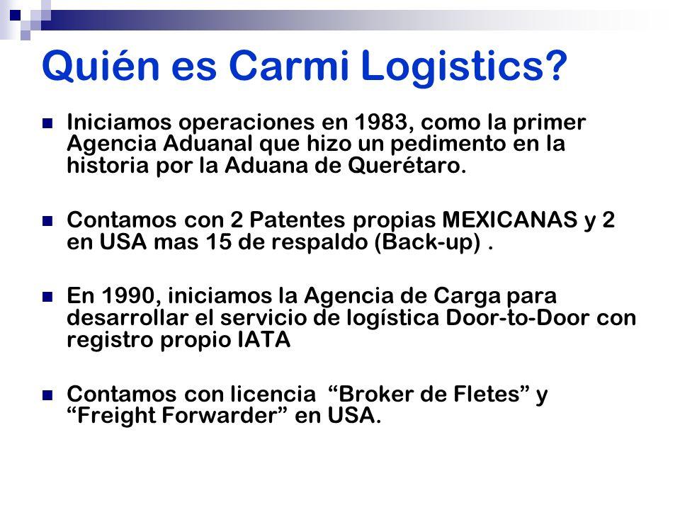 Quién es Carmi Logistics