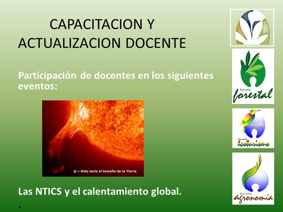 CAPACITACION Y ACTUALIZACION DOCENTE