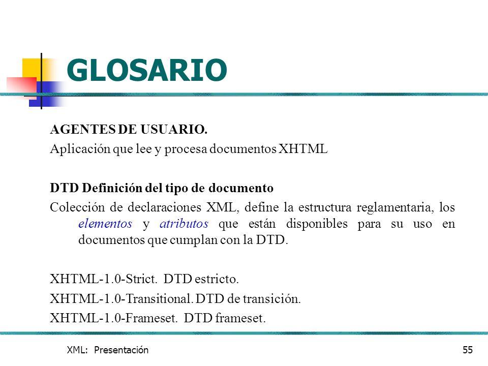 GLOSARIO AGENTES DE USUARIO.