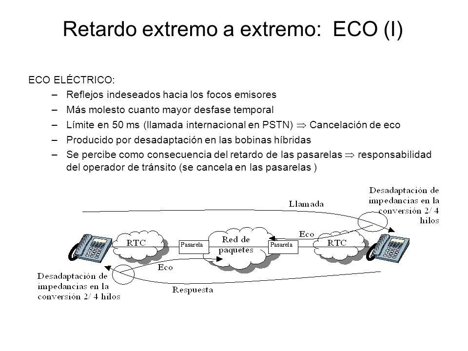 Retardo extremo a extremo: ECO (I)