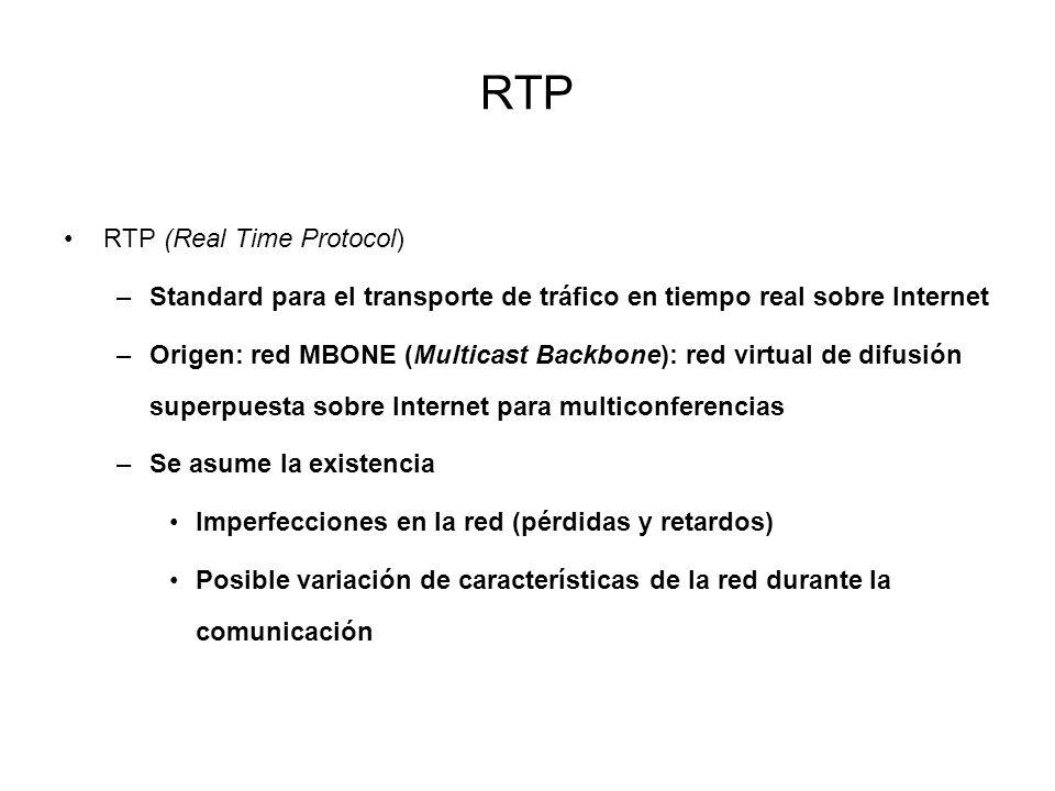 RTP RTP (Real Time Protocol)