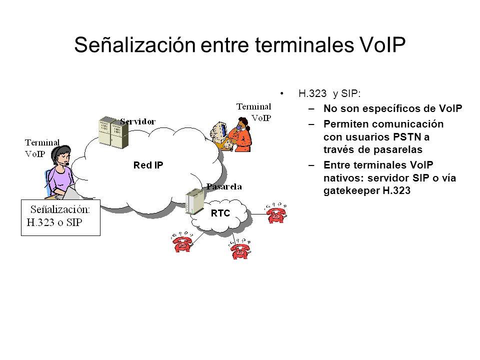 Señalización entre terminales VoIP