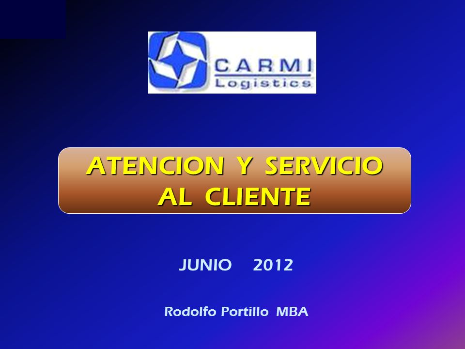 JUNIO 2012 Rodolfo Portillo MBA