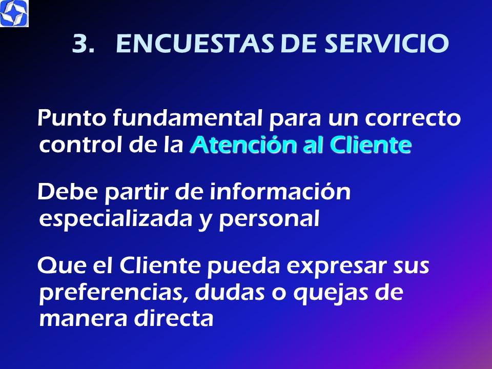 3. ENCUESTAS DE SERVICIO
