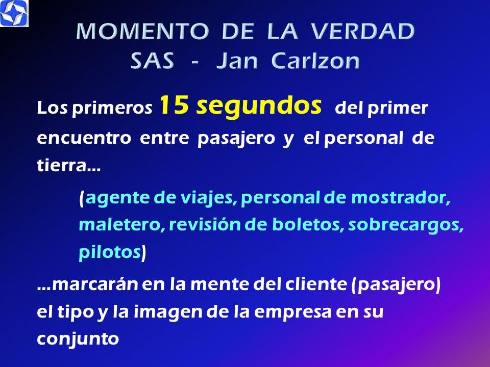 MOMENTO DE LA VERDAD SAS - Jan Carlzon