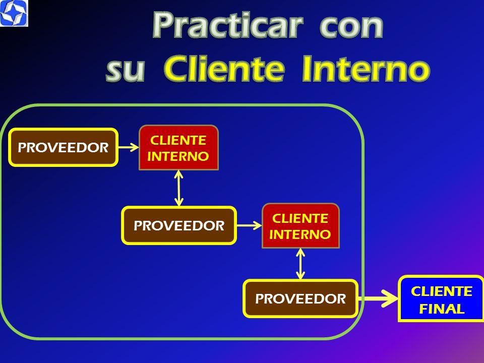 Practicar con su Cliente Interno