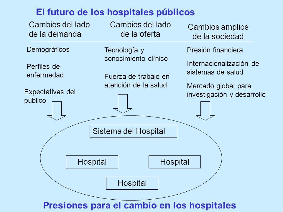 El futuro de los hospitales públicos