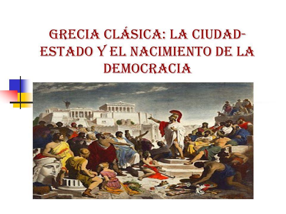 Grecia clásica: la ciudad-estado y el nacimiento de la democracia
