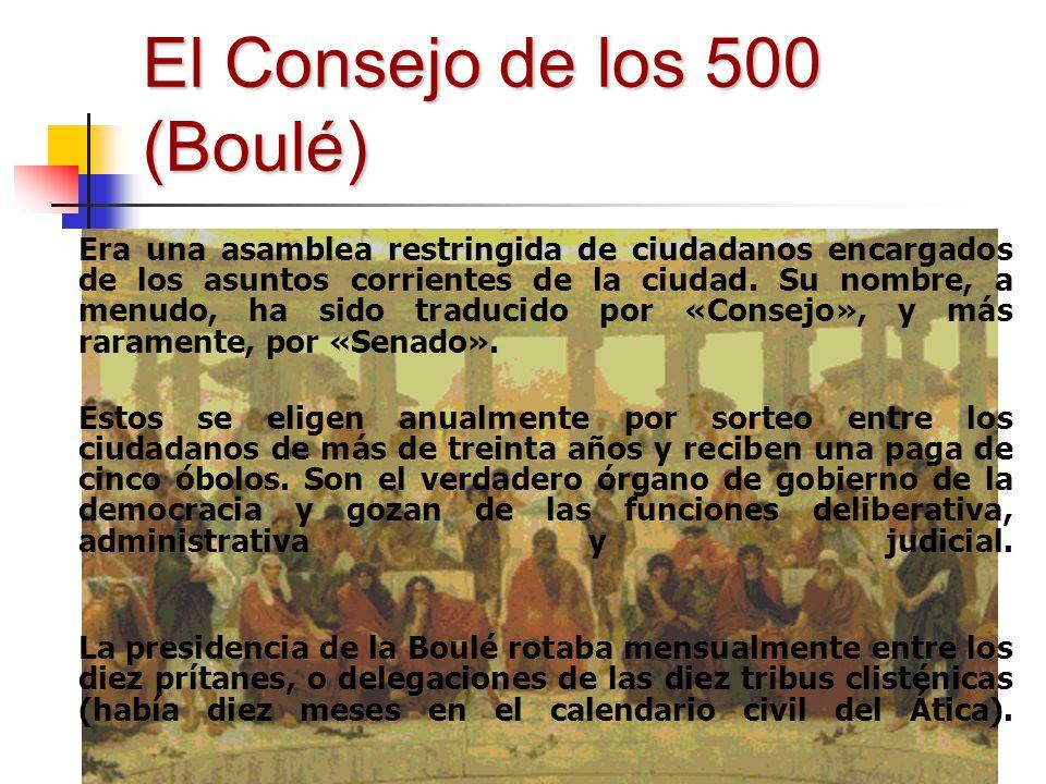 El Consejo de los 500 (Boulé)