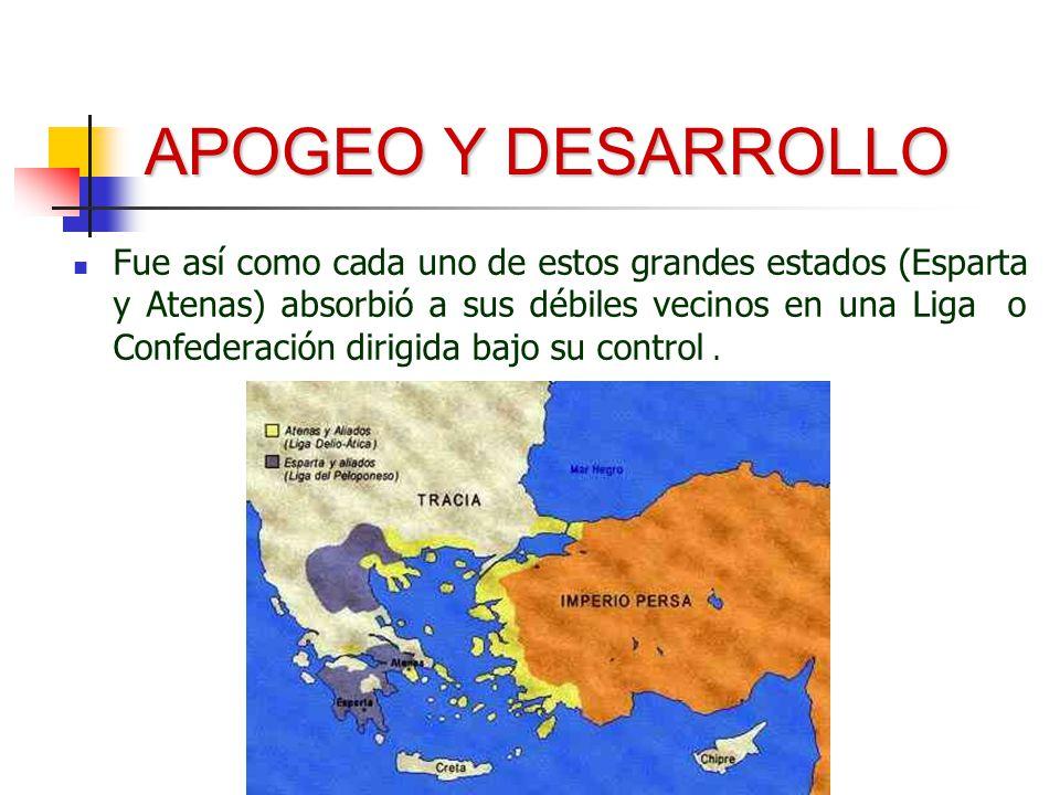 APOGEO Y DESARROLLO