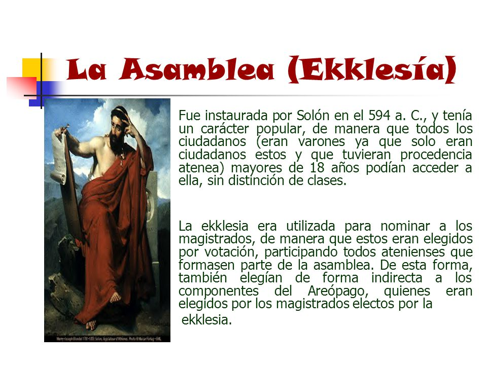 La Asamblea (Ekklesía)