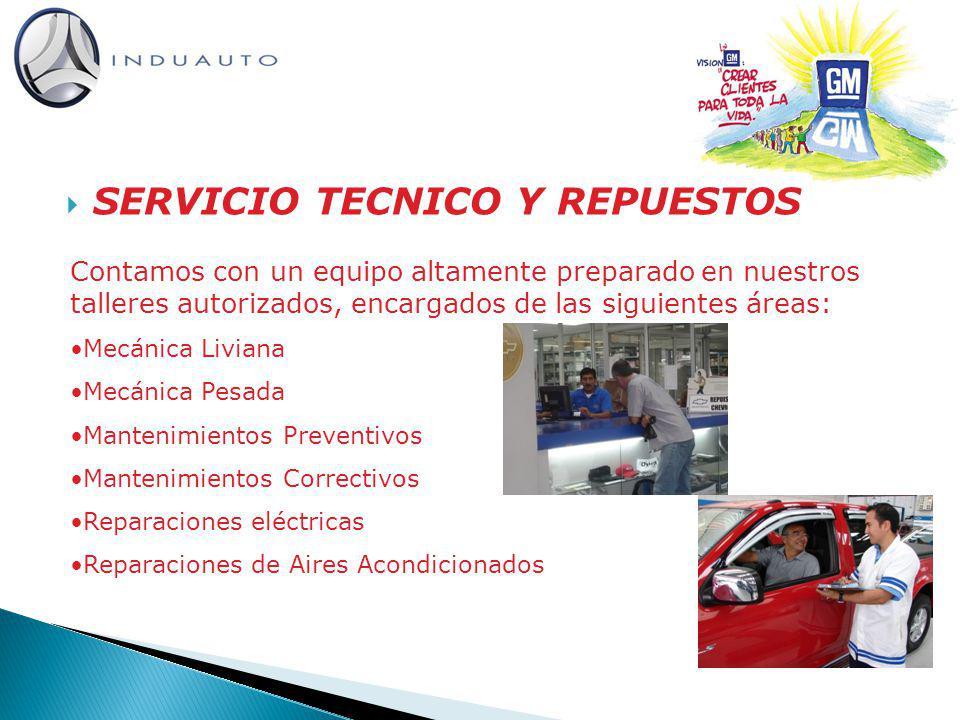 SERVICIO TECNICO Y REPUESTOS
