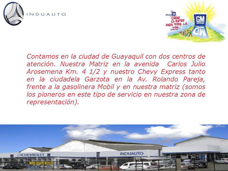 Contamos en la ciudad de Guayaquil con dos centros de atención