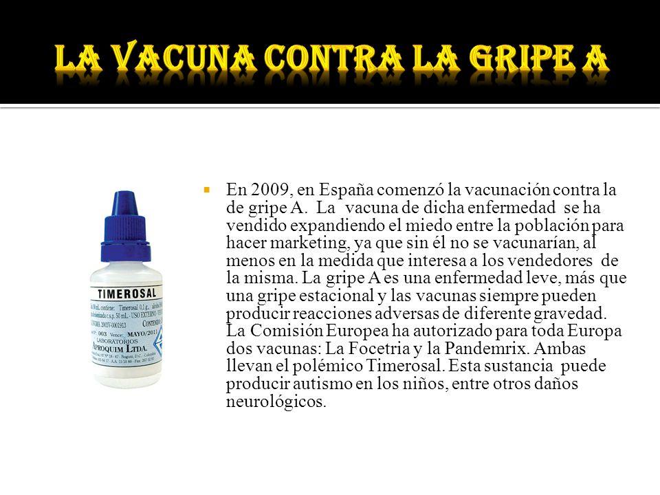 La vacuna contra la gripe A
