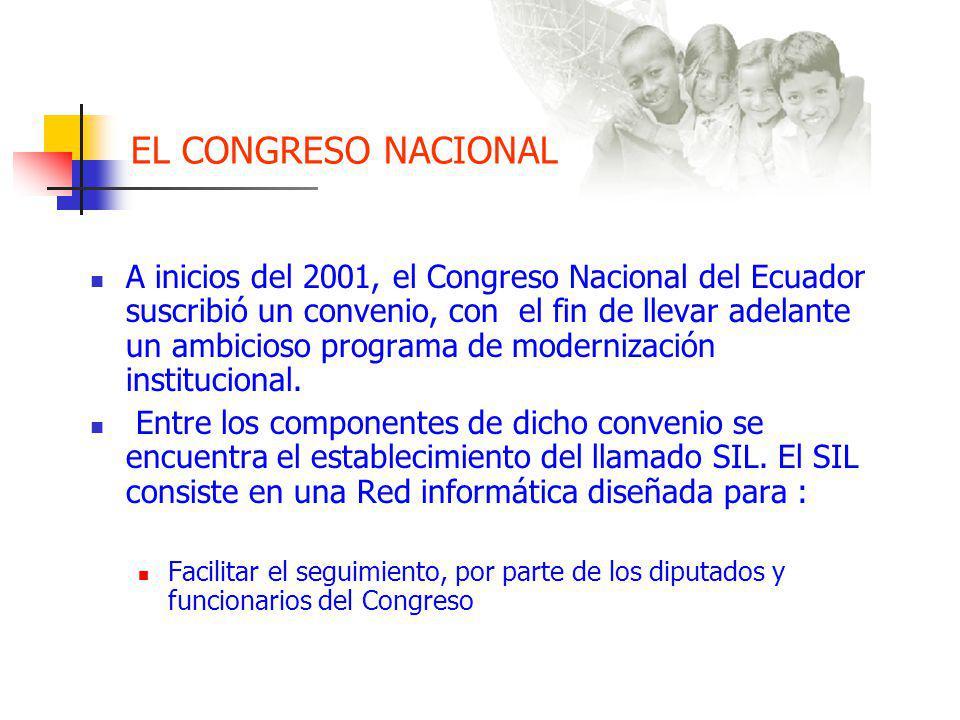 EL CONGRESO NACIONAL