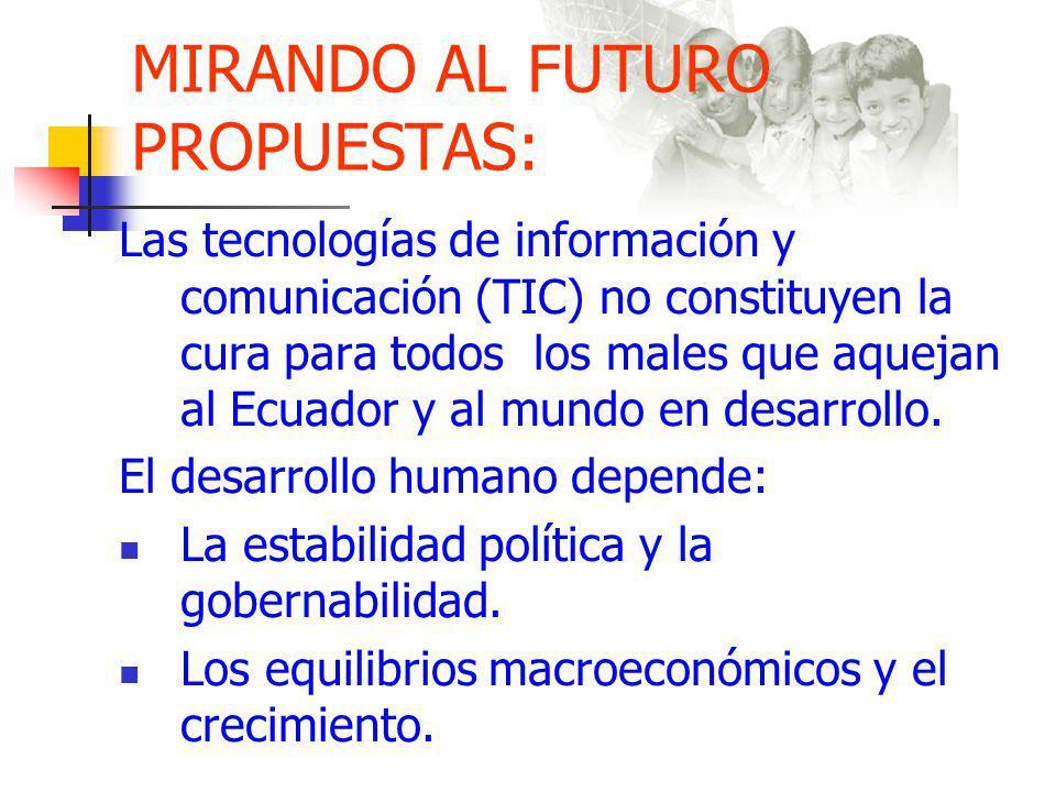 MIRANDO AL FUTURO PROPUESTAS: