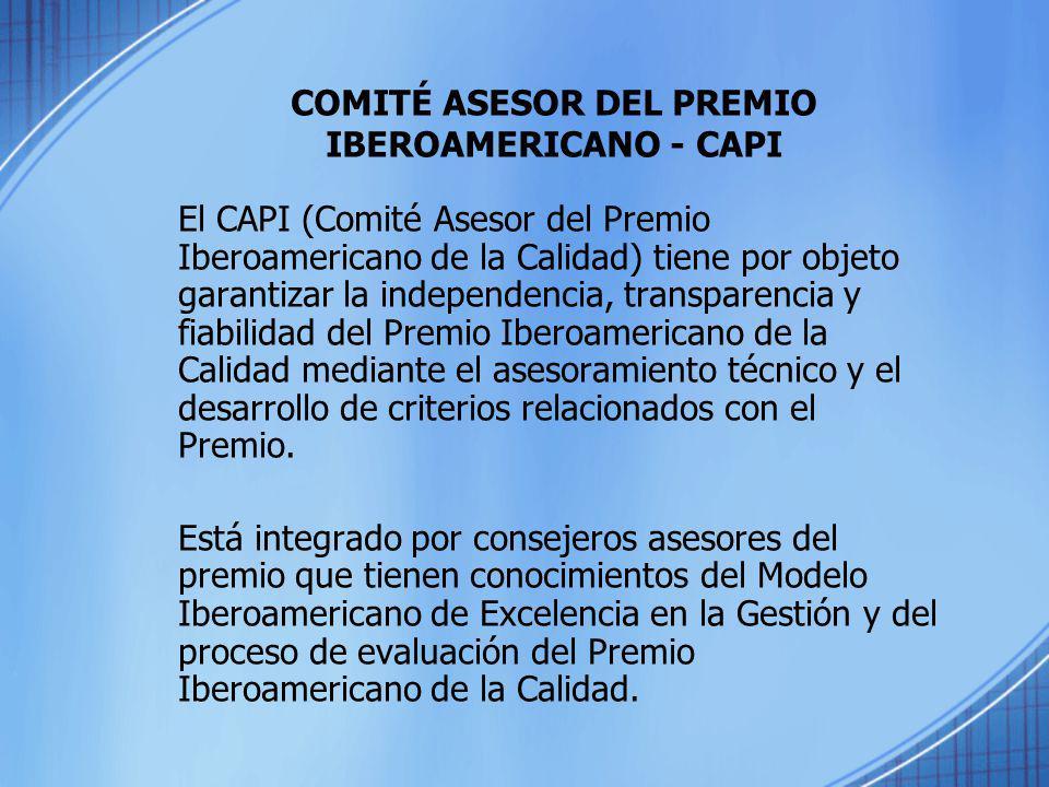 COMITÉ ASESOR DEL PREMIO IBEROAMERICANO - CAPI