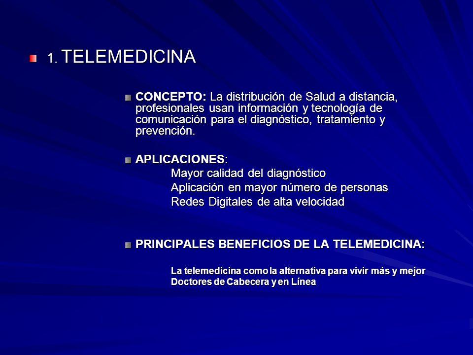 1. TELEMEDICINA