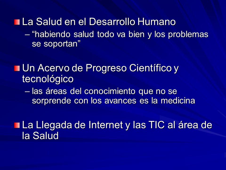 La Salud en el Desarrollo Humano