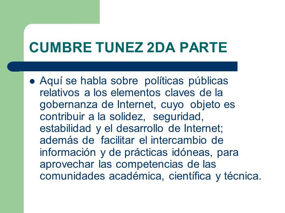 CUMBRE TUNEZ 2DA PARTE