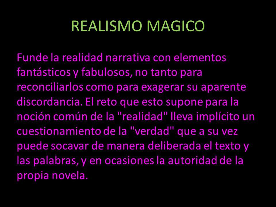 REALISMO MAGICO