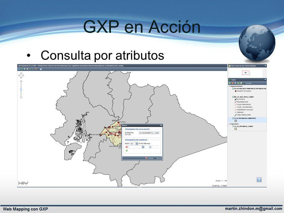 GXP en Acción Consulta por atributos