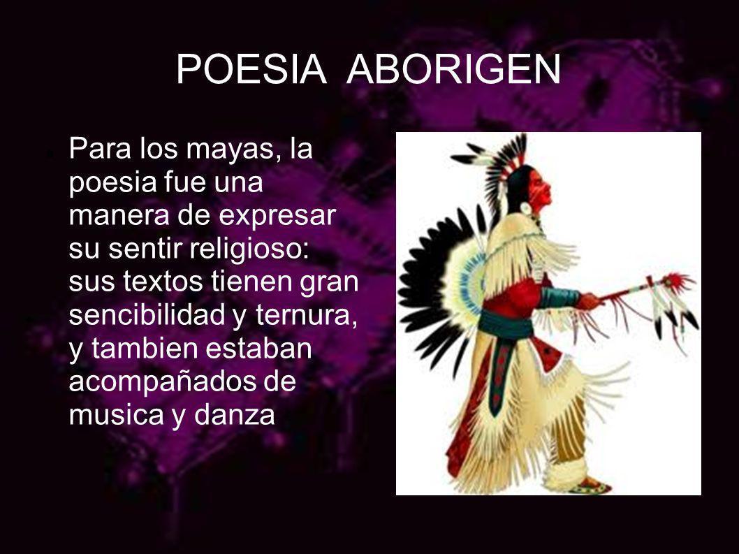 POESIA ABORIGEN