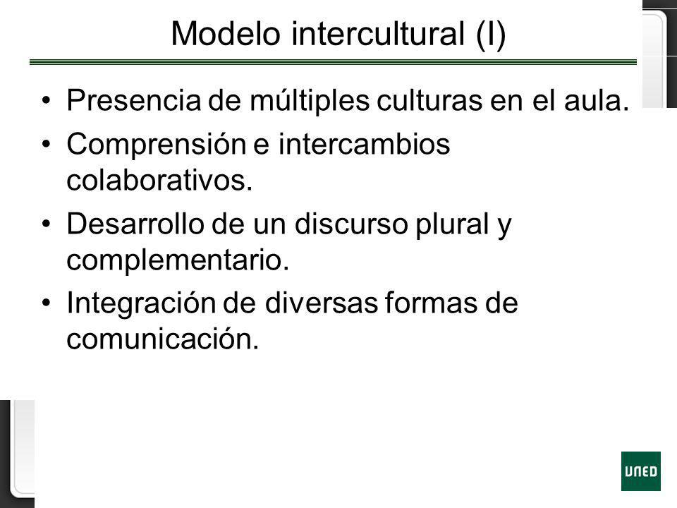 Modelo intercultural (I)