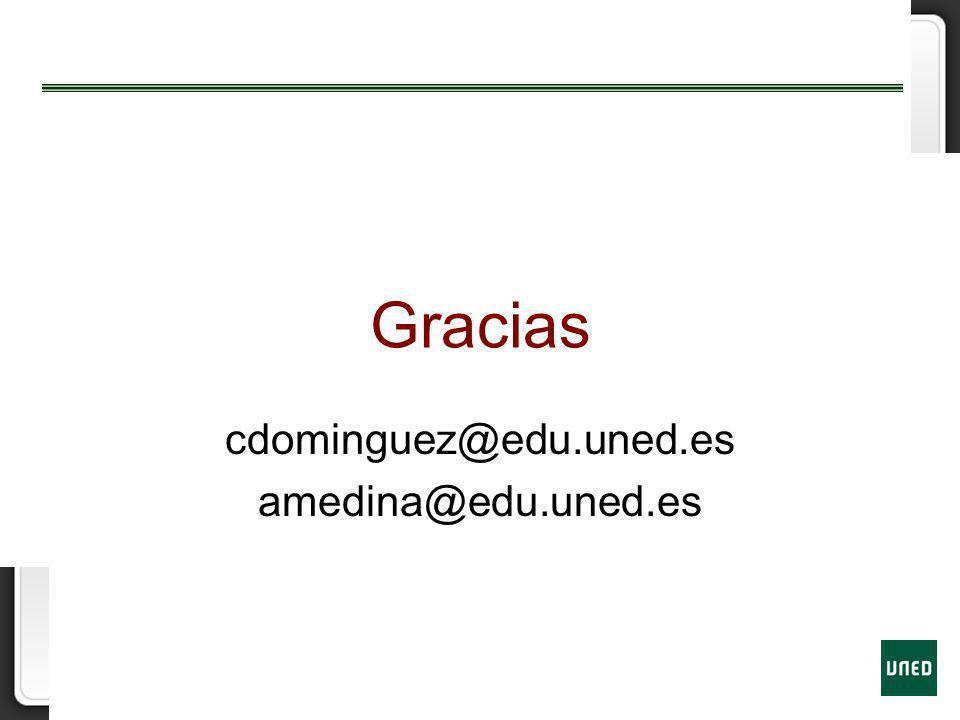 cdominguez@edu.uned.es amedina@edu.uned.es