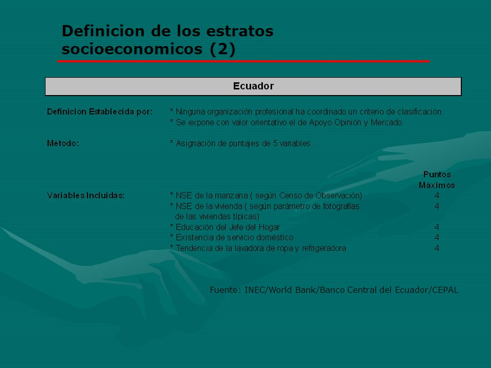 Definicion de los estratos socioeconomicos (2)
